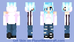 ♥σkα cσlα♥ The sadness will last forever Minecraft Skin