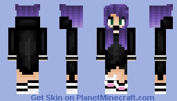 _+S U N S H I N E+_ Violet Moon ^^ Minecraft Skin