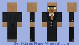 villager in a suit