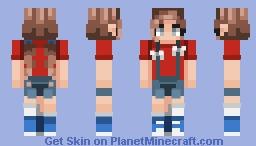 Star-Spangled Minecraft Skin