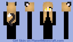 Sammie's Hair Base Minecraft Skin