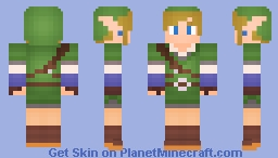 Link - Skyward Sword Minecraft Skin