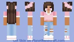 :* 🌧️ 𝓈𝒶𝓀𝓊𝓇𝒶 𝓁𝑒𝒶𝓋𝑒𝓈 𝒸🌺𝓋𝑒𝓇 𝓂𝓎 𝓈🌸𝓇𝓇🌸𝓌 🌧️ *: Minecraft Skin