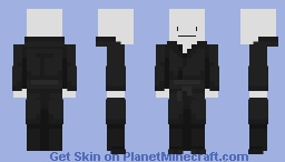 Black Robes / Ninja? Template Minecraft Skin