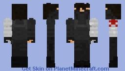 The Winter Soldier - MCU Minecraft Skin