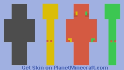 Dis-Coloration Minecraft Skin