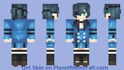 【Remake】(Alex ver. in desc.) Ciel Phantomhive // Kuroshitsuji (Black Butler) Minecraft Skin