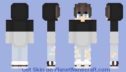 BlackAndWhite Minecraft Skin
