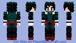 Midoriya Izuku (Boku No Hero Academia) Minecraft Skin