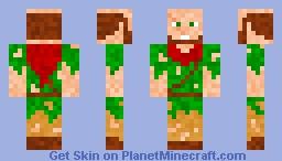 Medieval Homeless Minecraft Skin