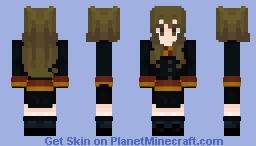 Hermione Granger ~ Liza❤︎ Minecraft Skin