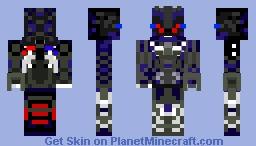 BarriCade(Transformers 5 Decepticon)Reuploded Minecraft Skin