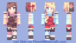 Sisters-Bad day Minecraft Skin