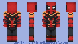 Iron Spider - Spiderman Homecoming Minecraft Skin
