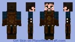 Jon Snow Stark Armour Minecraft Skin