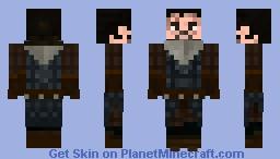 Jon Snow Season 7 Minecraft Skin