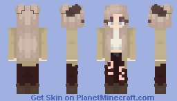Twisted - Girl Version Minecraft Skin