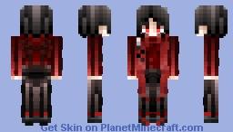◊「刀剣乱舞:はなまる」打刀|加州清光 | Kashuu Kiyomitsu◊ [Touken Ranbu:Hanamaru] Minecraft Skin