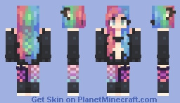 love me, love me, say that you love me Minecraft Skin
