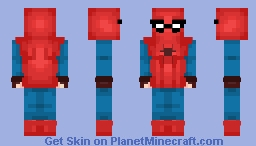 Spiderman - Homemade Suit Minecraft Skin