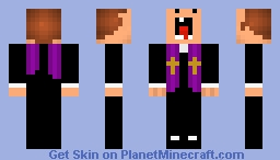 derpy church guy123 Minecraft Skin