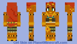 Riju - The Legend of Zelda: Breath of the Wild Minecraft Skin
