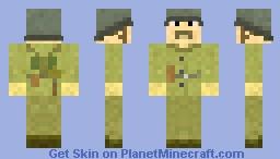Russian WWII Soldier: Version 2 Minecraft Skin