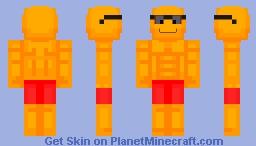 Sunglasses Emoji (and an update) Minecraft Skin