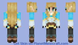 ღF҉𝔀𝓞ⓞ 𝒻♡ ~ ☽ Princess Zelda ☆ ♡♡ Minecraft
