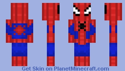 Spiderman Minecraft Skin