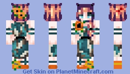 *мαηgℓє∂ ѕℓυѕнιє* Callieth's Sunflowers Minecraft Skin