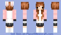 ~バニーガール~Bunny Girl~ Minecraft Skin