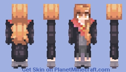 Ginny Weasley! ( Harry Potter ) Minecraft Skin
