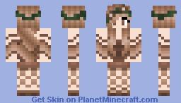 Forest Princess Minecraft Skin