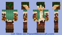Tattooed Hippy Elf || Massivecraft Minecraft Skin