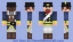 Swedish Fusilier - Napoleonic Wars Minecraft Skin