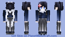 ◊「刀剣乱舞:はなまる」「打刀 | 大和守安定 | Yamatonokami Yasusada◊ [Touken Ranbu: Hanamaru] Minecraft Skin