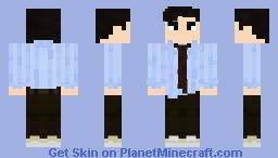 11th Doctor - Raggedy man Minecraft Skin
