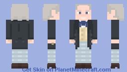 First Doctor Minecraft Skin