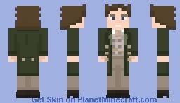 Eighth Doctor Minecraft Skin