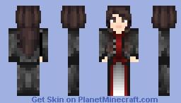 Astrid Baruch - Fur Coat (Open) Minecraft Skin
