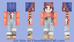 집에 돌아와 Minecraft Skin