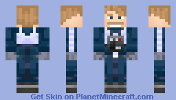 General Antoc Merrick (Blue Leader) Minecraft Skin