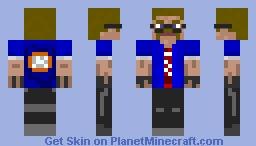 Gun Store Owner Minecraft Skin