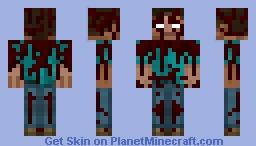 Herobrine (Herobrine Origins) Minecraft Skin