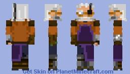 TAZ - Merle Highchurch Minecraft Skin
