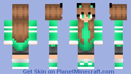 SavageCammy's skin (similar to mine) Minecraft Skin