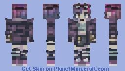 g u ess  w h o' s  b a ck - popreel? Minecraft Skin