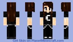 ♦ I Just Like Wearing Black ♦ Minecraft Skin