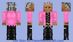 Till Lindemann in his pink plush jackett